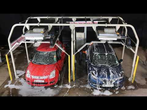 Twin Car Washing System