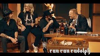 Lemmy Motörhead - Run Run Rudolph ♠ Acoustic Jam Session Christmas Song