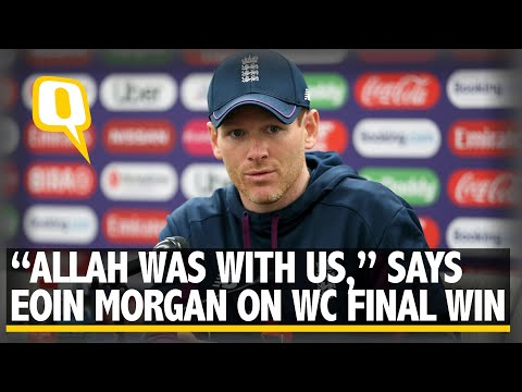 """""""Allah Was With Us,"""" Says Eoin Morgan After Winning World Cup Final 
