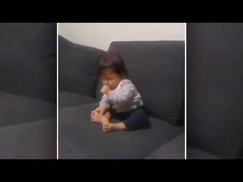 Wie das Mädchen von der Hand in trussikach anzuregen