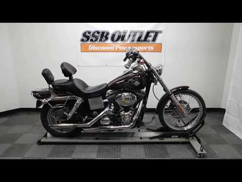 2005 Harley-Davidson FXDWG/FXDWGI Dyna Wide Glide® in Eden Prairie, Minnesota