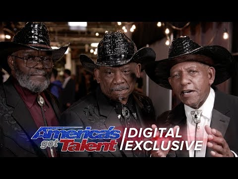 Elimination Interview: The Masqueraders Thank America For Their Support - America's Got Talent 2017 (видео)