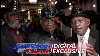 Elimination Interview: The Masqueraders Thank America For Their Support - America's Got Talent 2017