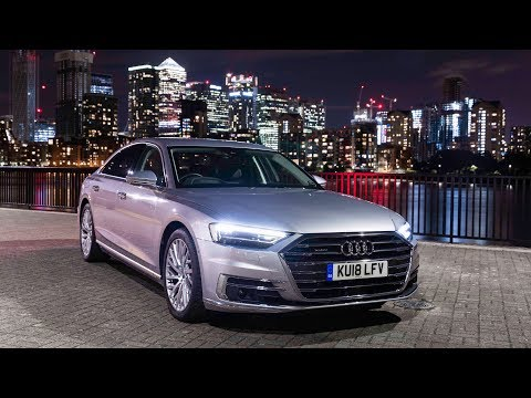 New Audi A8: The Best Car For Driving At Night? - Carfection (4K)