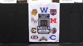 Talladega County Holds Football Media Day