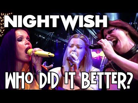 NIGHTWISH - Replacement Singers - Who Did It Better? Tarja Turunen  - Anette Olzon - Floor Jansen