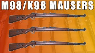 M98/48 Mauser, 8 MM 5 Round Bolt Action, Turned Bolt - Made in Germany - M44 Preduzece- Surplus Good