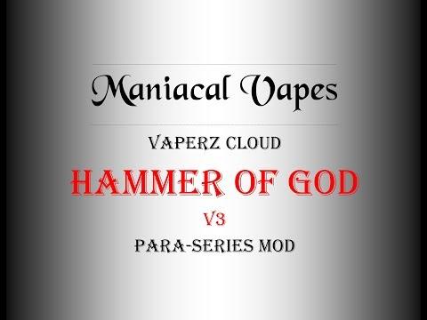 Vaperz Cloud Hammer Of God V3