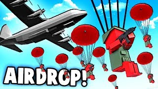 NEW Parachutes!  AC-130 Spectre Planes, SPEC OPS Helicopters! (Ancient Warfare 3 Update)