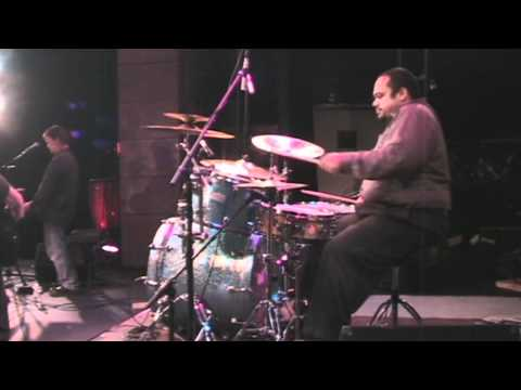 George Gregory Cold Sweat live drum cam