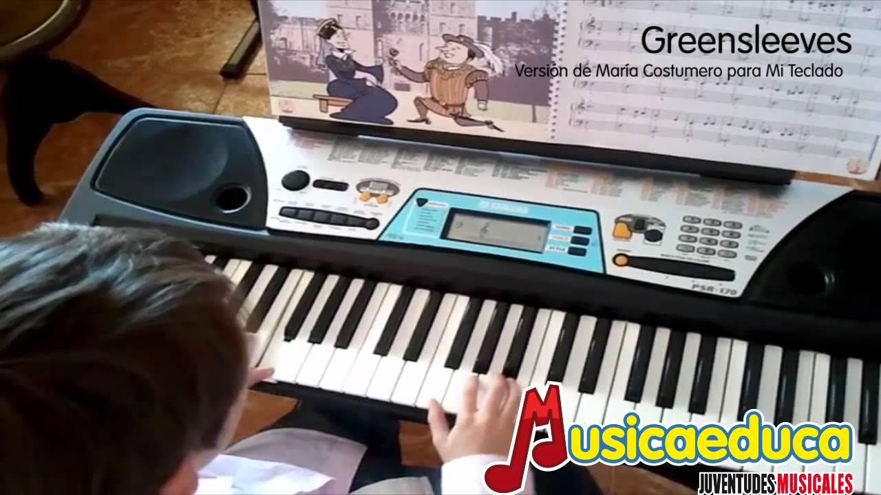 Greensleeves - Mi Teclado 4