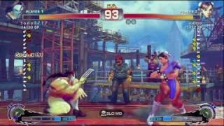 ex6tool [Chun] vs t o n o 7 7 7 7 [Vega] SSF4 Japanese Online Ranked Matches - TRUE-HD