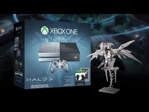 Halo 5 Special Edition Xbox One Bundle Unboxing