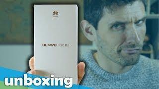 Unboxing e impresiones del NUEVO HUAWEI P20 LITE ¿A qué te recuerda?