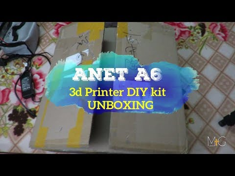 Anet A6 (Unboxing & Review) from BANGGOOD