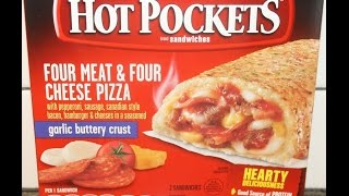Hot Pockets: Four Meat & Four Cheese Pizza Review