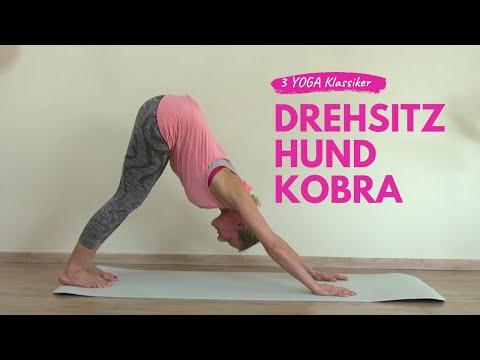 Drei Klassische Yoga Übungen - gut zur Entschlackung und Detox
