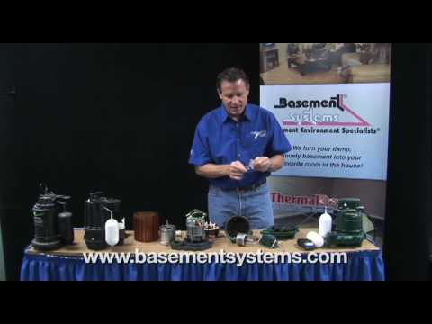 This video talks about the motors of the top pumps in the basement waterproofing industry. Larry Janesky, owner of Basement Systems talks about pump motor, speed, casing, switch quality and why you need to select the best pump to solve your basement water problem.