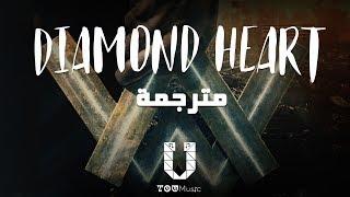 Alan Walker   Diamond Heart (feat. Sophia Somajo) مترجمة