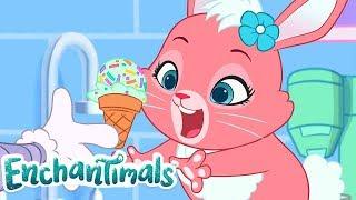 Enchantimals Россия 💜Хаос мороженого и более полные эпизоды! 🍦😱💜Забавные истории 💜мультфильмы