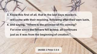 Mockers In The Last Days