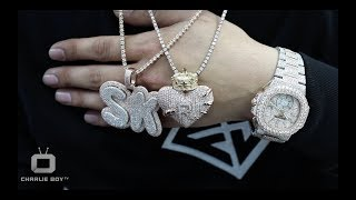 Franky Diamonds Miami Jeweler Shows Us How To Price A Diamond Chain & Makes Custom Pendant On Spot.