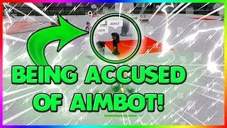BEING ACCUSED OF AIMBOTTING! DROPPING OFF 2 PROS!