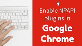 Enable NPAPI plugins in Google Chrome