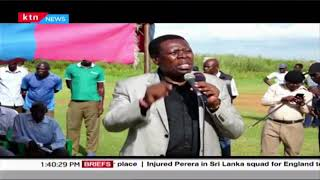CS Wamalwa assures Budalangi residents of government intervention after floods that rocked the area