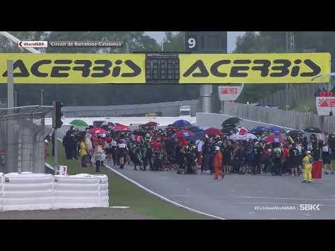 スーパーバイク世界選手権 SBK 第9戦スペイン(カタロニア・サーキット)レース1のハイライト動画