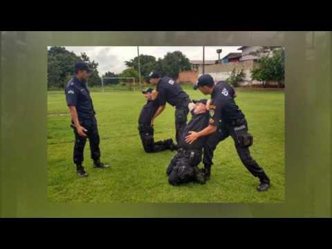 4° Batalhão de Polícia Militar de Cacoal realiza o 1° Programa de Treinamento