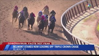 Belmont Stakes will lead off Triple Crown