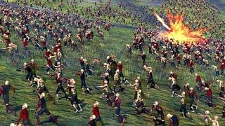 Zombie Invasion -  The Empire Versus Zombie - Massive Battle Total War Warhammer