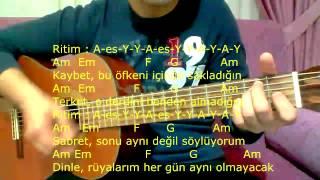 Gitar Dersi - Yokluğunda (Leyla The Band)