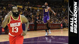 LEBRON & HARDEN Highlight The Top NBA Games Of The Night