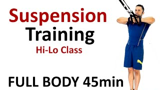 Suspension Training: HiLo Full Body Workout 2 by Coach Ali