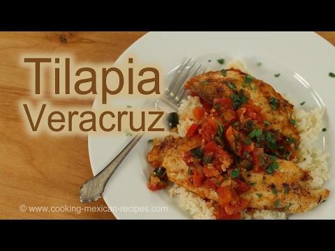 How To Fry Tilapia | Tilapia Veracruz Seafood Recipe | Rockin Robin Cooks
