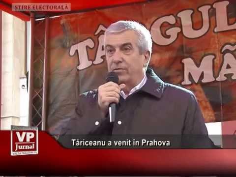 Tăriceanu a venit în Prahova