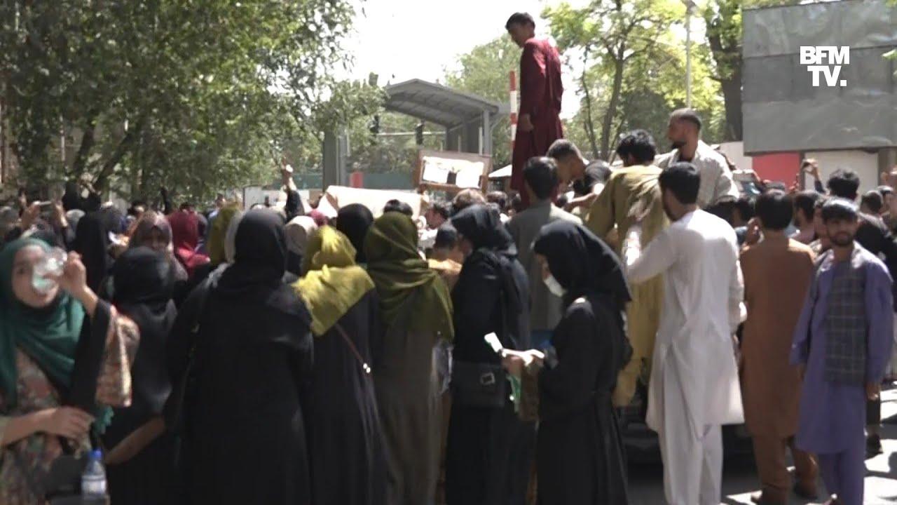 En Afghanistan, les talibans ont dispersé de nouvelles manifestations à Kaboul ce mardi