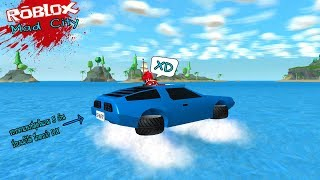 Roblox : Mad City #5 อัพเดทใหม่ ปล้นผับ ซื้อรถที่แพงสุดในเกมวิ่งได้ทั้งบนบกและบนน้ำ (20000 robux)!!