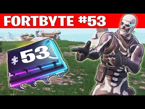 FORTBYTE #53 ☆ DISCOKUGEL SCHURKENUNTERSCHLUPF ☆ Fortnite Season 9 Deutsch