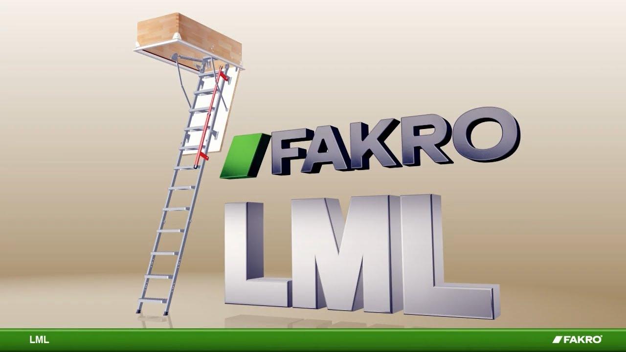 LML Metal Loft Ladder
