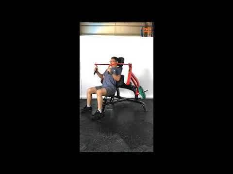 Steelflex Plate Load Series Instruction Video-PLTE (Triceps Extension Machine)