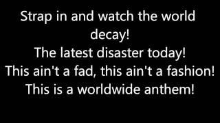 Anti-Flag - The Neoliberal Anthem (Lyrics)