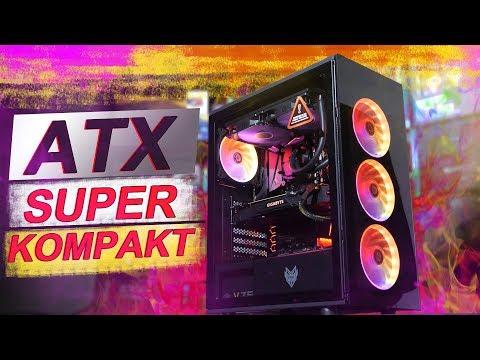 Das SUPER KOMPAKTE ATX Gehäuse mit ARGB! -- FSP CMT340