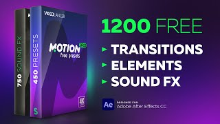Free Presets Pack for Motion Bro - Overview [After Effects]