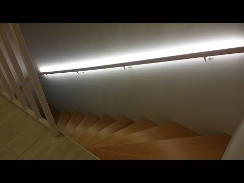 Handlaufbeleuchtung für 35€ (Anleitung)