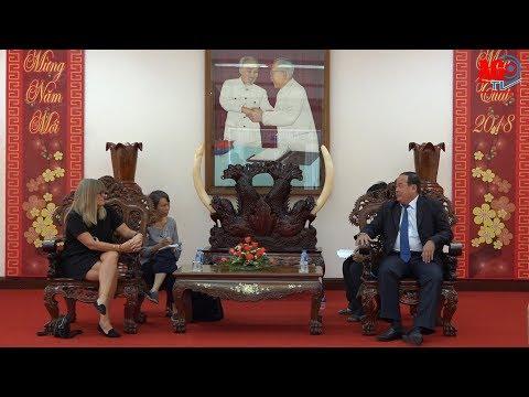 Tổng Lãnh sự Úc tại Thành phố Hồ Chí Minh đến thăm An Giang
