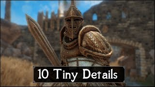 Skyrim: Yet Another 10 Tiny Details That You May Still Have Missed in The Elder Scrolls 5 (Part 46)