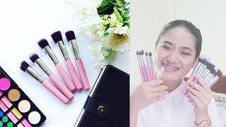 Unbranded Brushes Review 10 pcs Kabuki Set| Zayonn Stuffs | JoyOFMia